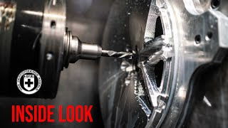 HOW FORGED WHEELS ARE MADE - INSIDE LOOK AT HRE PERFORMANCE WHEELS FACILITY.