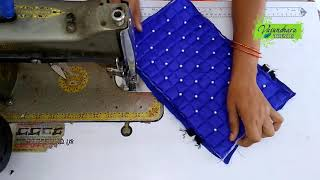 How To Make Bautiful Fabric Purse At Home || How To Sew Hand Purse With Old Cloth