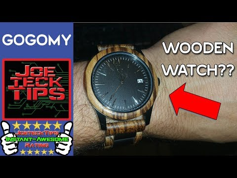 WOW, Mens Wooden Watch? Review | JoeteckTips