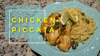 Chicken Piccata   Juicy and flavorful chicken breast – the easy way!
