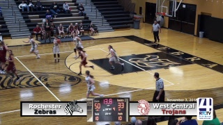 Rochester Girls Basketball vs West Central