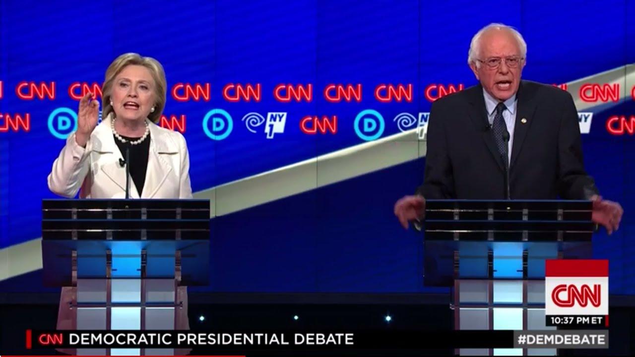 CNN New York Democratic Debate | The Biggest Loser Was... thumbnail