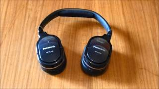 Panasonic RP-HC700 Noise Cancelling Headphones Preview