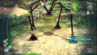 Pikmin 3 - Mini-boss: Shaggy Long Legs