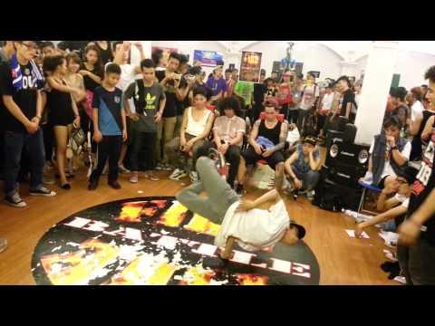 Đấu hiphop rất hay cực đỉnh của 2 nhóm nhảy Sine crew vs Bigtoe crew