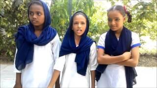 Sanitation day celebration in municipal school, Ahmedabad