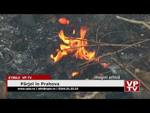 Pârjol în Prahova