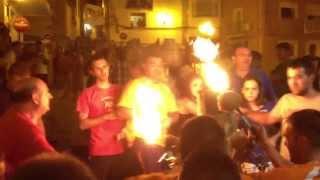 preview picture of video 'Embolada Sueras 13 agosto 2013'