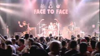 Face to Face - It's Not Over (live)