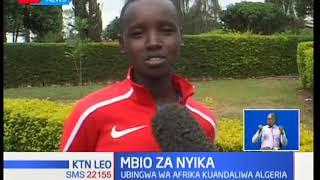 Bingwa wa taifa wa mbio za nyika za kina dada Stacy Ndiwa amedai kwamba anamezea mate taji la Afrika