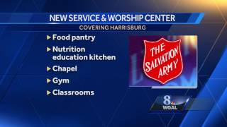 Salvation Army to build center on vacant Harrisburg lot