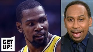 Stephen A.: Durant playing with Steph Curry totally different than playing with LeBron | Get Up!