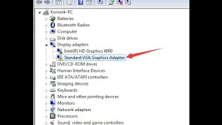 How to update your standard vga graphics adapter