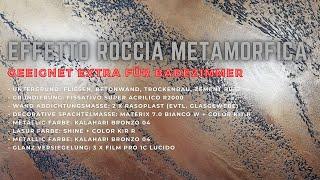 Effetto Roccia Metamorfica | Gebrochener Stein Optik für Bad