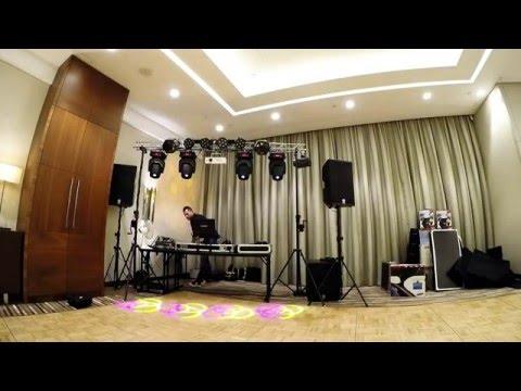 Sistema Truss con Atriles con Manivela para DJs