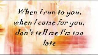 enrique iglesias - maybe - lyrics