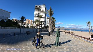 Alicante, Spain, #SpainTur, #GoProHERO7Black #TimeWarp, #TimeLapse,  Прогулка на великах по Аликантe