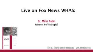 Dr. Mihai Nadin featured on the radio in Kentucky - 1/9/14
