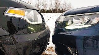 Кто настоящий внедорожник? Off-Road НОВЫЙ УАЗ Патриот АКПП против  Toyota Land Cruiser Prado! 2020