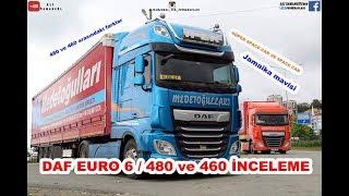 DAF EURO 6 / 480 ve 460 / SÜPER SPACE CAB TANITIM / İNCELEME