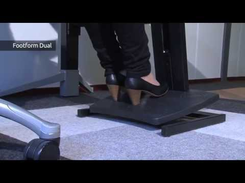 Hoe werkt de Footform dual?