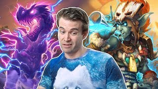 (Hearthstone) High Legend Adventures with Big Hand Mage