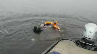 Зимний костюм для рыбалки плавающий raftlayer