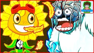 Игра Зомби против Растений  Герои от Фаника Plants vs zombies Heroes 3