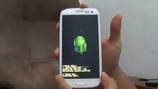 Samsung Galaxy S3 SGH-T999L Hard reset - 123vid