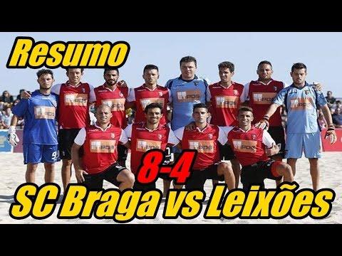 VIDEO: SC Braga vs Leixões 8-4 - Resumo Todos os Golos | Futebol praia (15/08/2015)