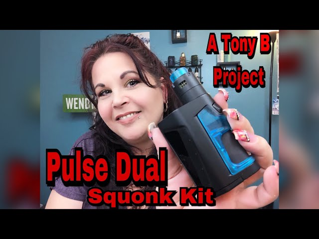 Pulse Dual Squonk Kit with Pulse V2 RDA || A Tony B Project & Vandy Vape