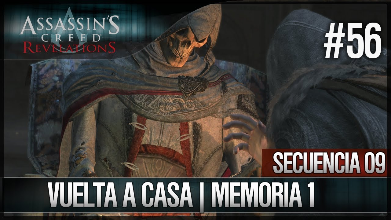Ver Assassin's Creed Revelations | Walkthrough | Secuencia ADN 9 | Vuelta a casa |1| 100% en Español Online
