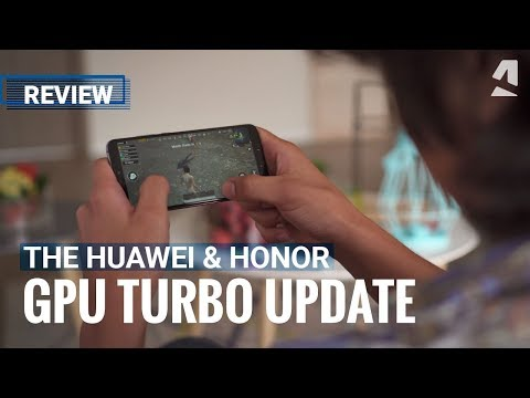 Reviewing Huawei and Honor's GPU Turbo update
