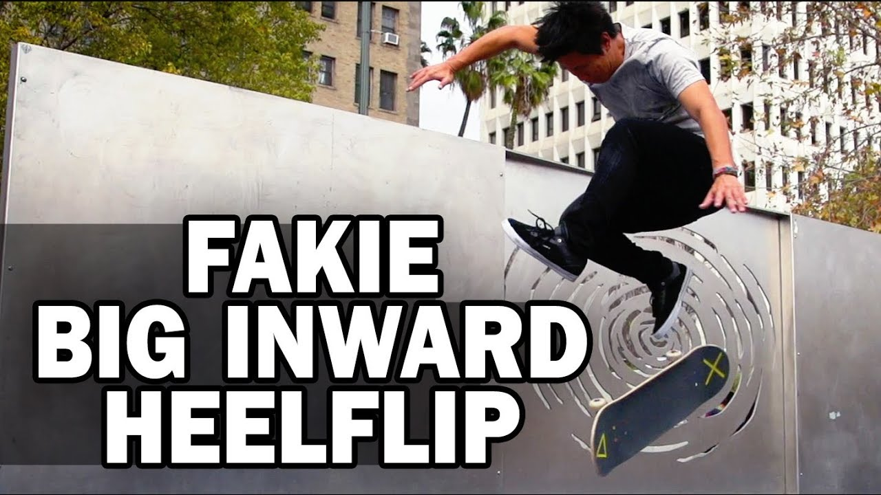 Fakie Big Inward Heelflip: Jason Park || ShortSided - Brett Novak