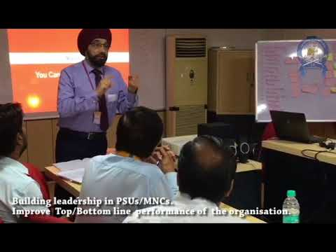 Building Leadership session by Retd. Col. HS Walia