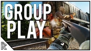 ESCAPE FROM TARKOV GROUP PLAY ON CUSTOMS Part 1! (Escape from Tarkov Gameplay #5)