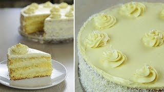 Торт на НОВЫЙ ГОД! Нежный и Легкий Торт НЕЖНОСТЬ с кремом Пломбир  БЮДЖЕТНЫЙ торт