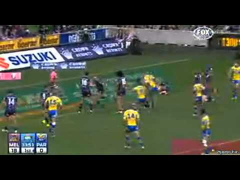 Melbourne Storm vs Parramatta Eels round 15 Full Highlights June 2014