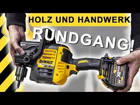 NEUES WERKZEUG! HOLZ-HANDWERK 2018 Tour - Neuheiten & Highlights
