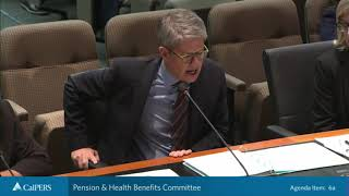 Pension & Health Benefits Committee - Part 1 on November 19, 2019