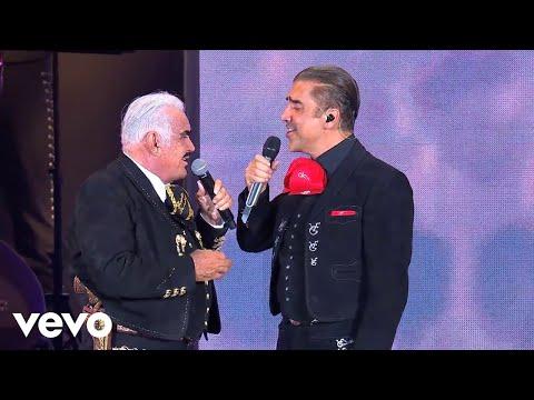"""Vicente y Alejandro Fernández Interpretan En Vivo """"Paloma Querida"""""""