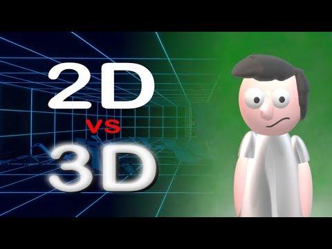 2D vs 3D animace