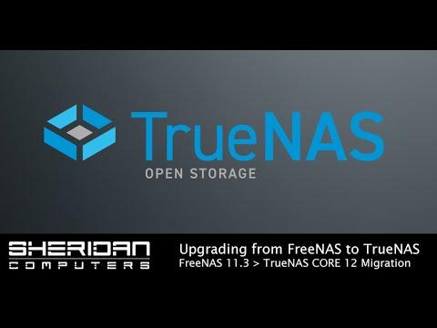 How to upgrade FreeNAS to TrueNAS
