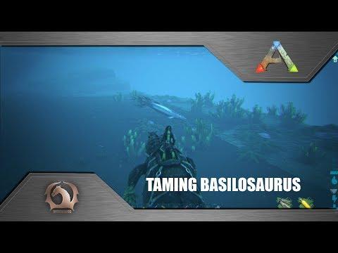 ARK: BASILOSAURUS TAMING & REVIEW! Patch 254 - смотреть