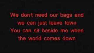 All American Rejects-Mona Lisa(When The World Comes Down) W/lyrics