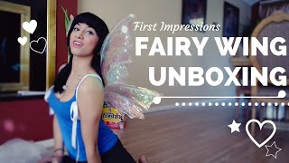 FAIRY WINGS- Wild Plum Boutique: ETSY UNBOXING First Impressions