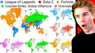 Which Games are Most Popular in Every COUNTRY?