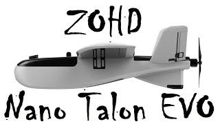Самолет с GPS и FPV ZOHD Nano Talon EVO