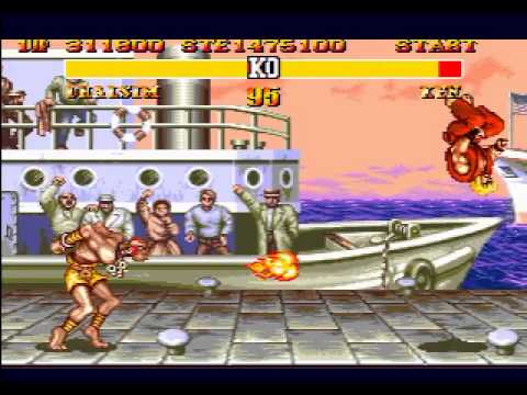 Mega Drive Longplay [270] Street Fighter II: Special Champion Edition