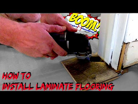 How to Install Laminate Floor on Concrete